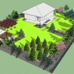 wizualizacja_ogrod_geometryczny_pergola